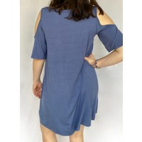 Babydoll Dress with Front Strap Detail