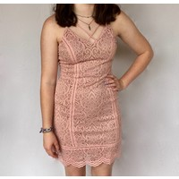 Lace Dress Blush