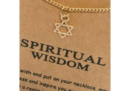 dogeared Spiritual Wisdom Necklace