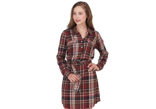 Bale Flannel Shirt Dress