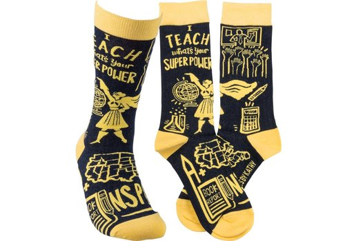 primative by Kathy I Teach Sock