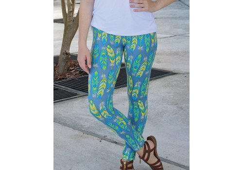 SIMPLY SOUTHERN Feather Leggings