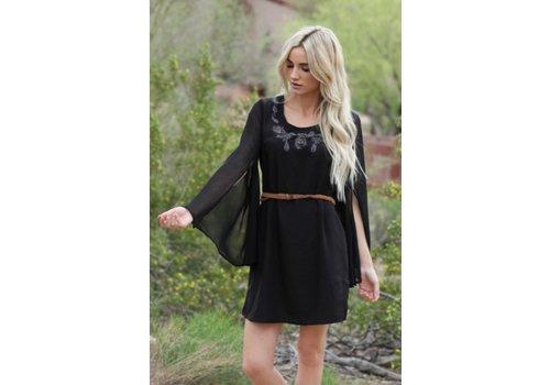 angie Asis Black Dress