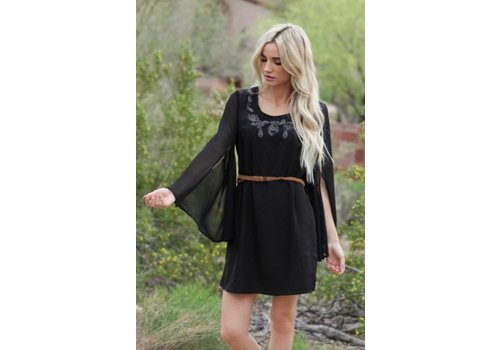Asis Black Dress