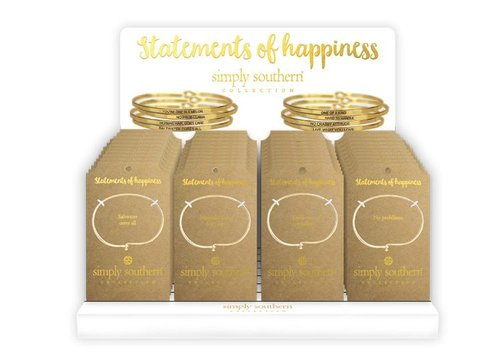 SIMPLY SOUTHERN Simply Southern Message Bangles