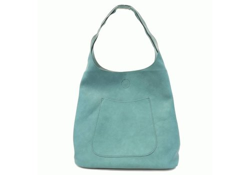 Turquoise Slouchly Hobo