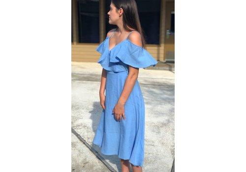 Spring Dress - Blue or pink