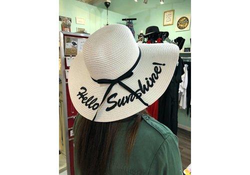 Hello Sunshine Wide Brim Hat