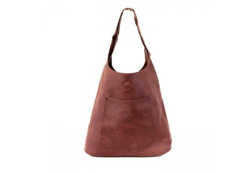 Molly Slouchy Hobo - Burgundy