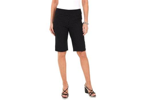 zoe & rachel Black Pindot Shorts