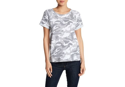 cable and gauge Camo Crew Neck Tee