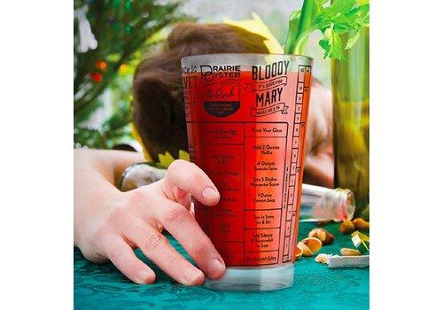 Hangover Recipe Glass