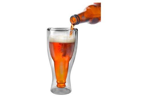 fred Hopside Down Beer Glass - 12 oz