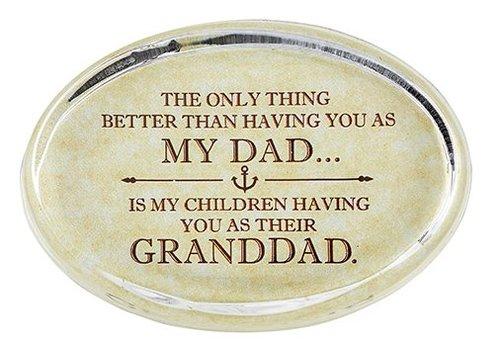 creative brands Granddad Paperweight