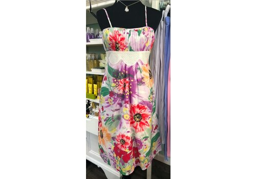 aryeh Bright floral summer dress