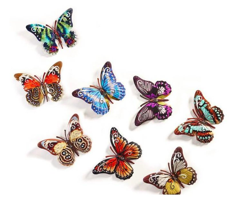 Butterfly Wall Art Pick One Of 8 Colors
