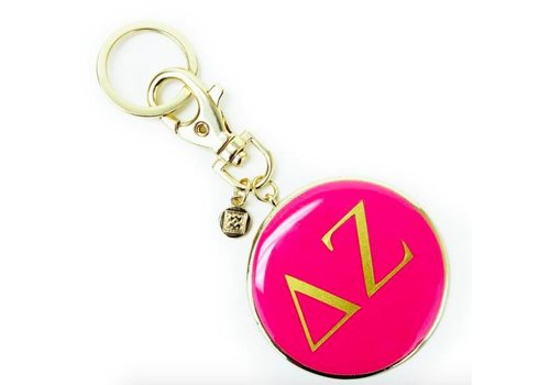 Round Colorful Keychains - can be monogrammed