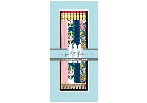 Picket fence boxed pencil set