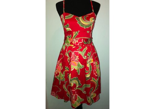 aryeh Red Sundress