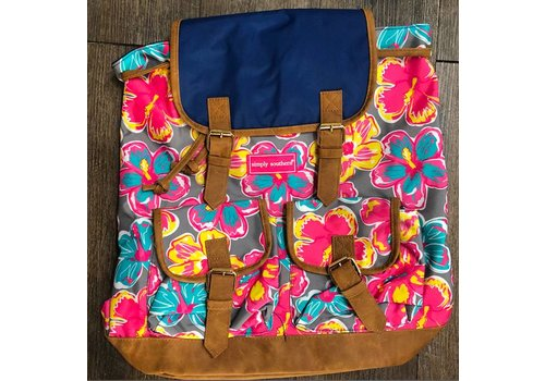 SIMPLY SOUTHERN Simply Southern Floral Bookbag