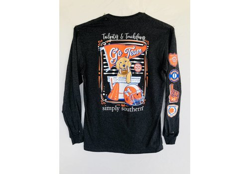 SIMPLY SOUTHERN Simply Southern Long Sleeved Tailgates & Touchdowns