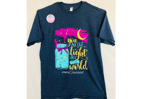 SIMPLY SOUTHERN Simply Faithful - You are the Light of the World T-shirt