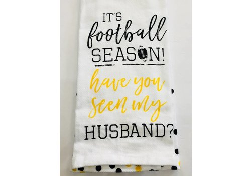 Collegiate Football Fan Tea Towel - assorted