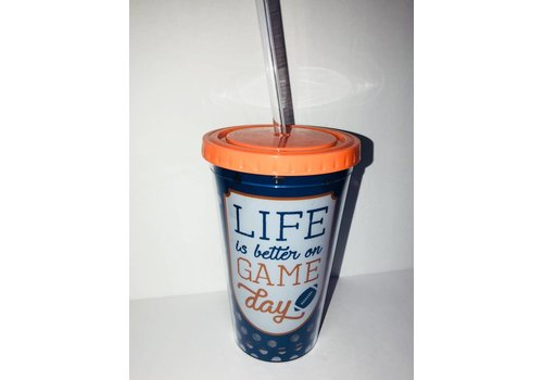 College Game Day Acrylic Cup