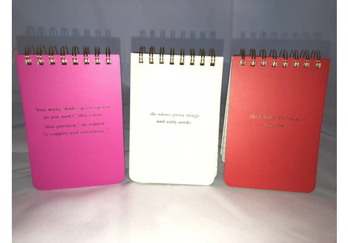 Kate Spade Small Notebook Set of 3