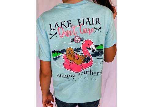 SIMPLY SOUTHERN Simply Southern - Lake Hair Don't Care Tee