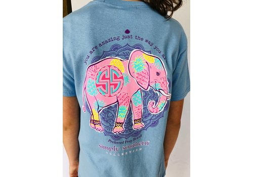 SIMPLY SOUTHERN Youth Simply Southern Amazing Elephant Tee