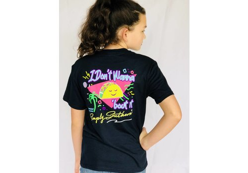 SIMPLY SOUTHERN Youth Simply Southern - Taco 'Bout It tee