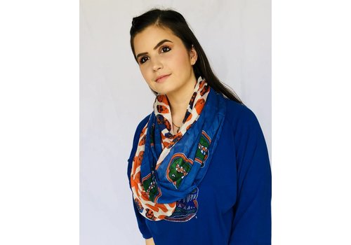 University of Florida Gators Logo Infinity Scarf