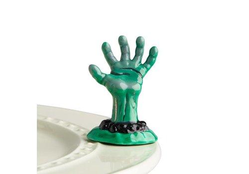 nora fleming Zombie Hand - Nora Fleming Mini