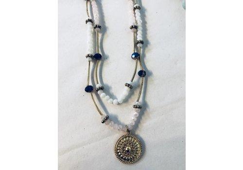 3-way stretch bead necklace/bracelet/choker