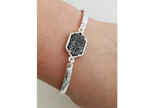 """Kendra"" Bracelet with Chain"