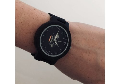 Bamboo Leather Watch