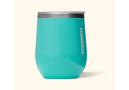 corkcicle Corkcicle Stemless- 12oz Gloss Turquoise