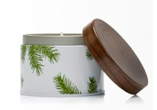 THYMES Fraiser Fir Candle with Pine Needle Case