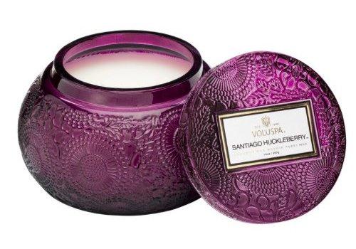 voluspa Voluspa -  santiago huckleberry bowl candle