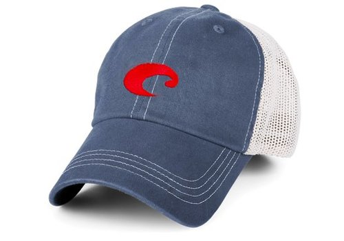Costa - mesh slate blue hat