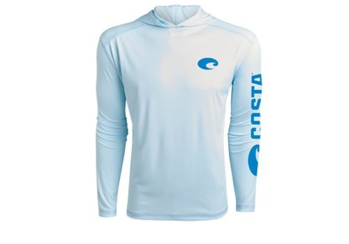 Costa -white long sleeved dry-fit shirt