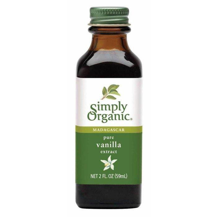 SIMPLY ORGANIC Extrait de vanille bio 59 ml