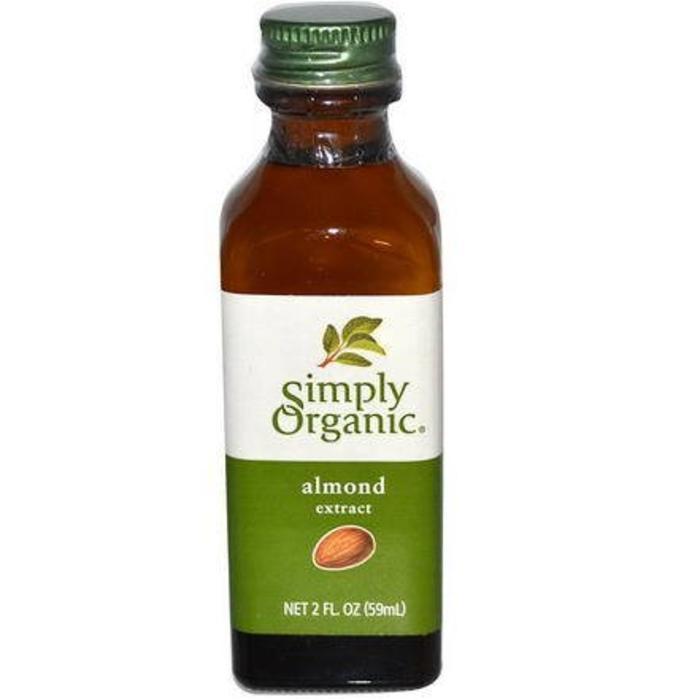 SIMPLY ORGANIC Extrait d'amandes 59 ml