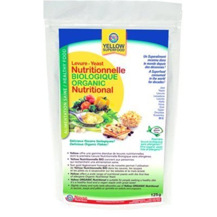 YELLOW Levure nutritionnelle Bio 125g