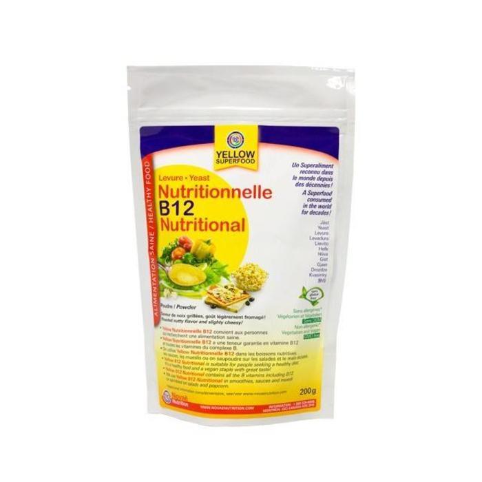 YELLOW Levure nutritionnelle B12 poudre 200g