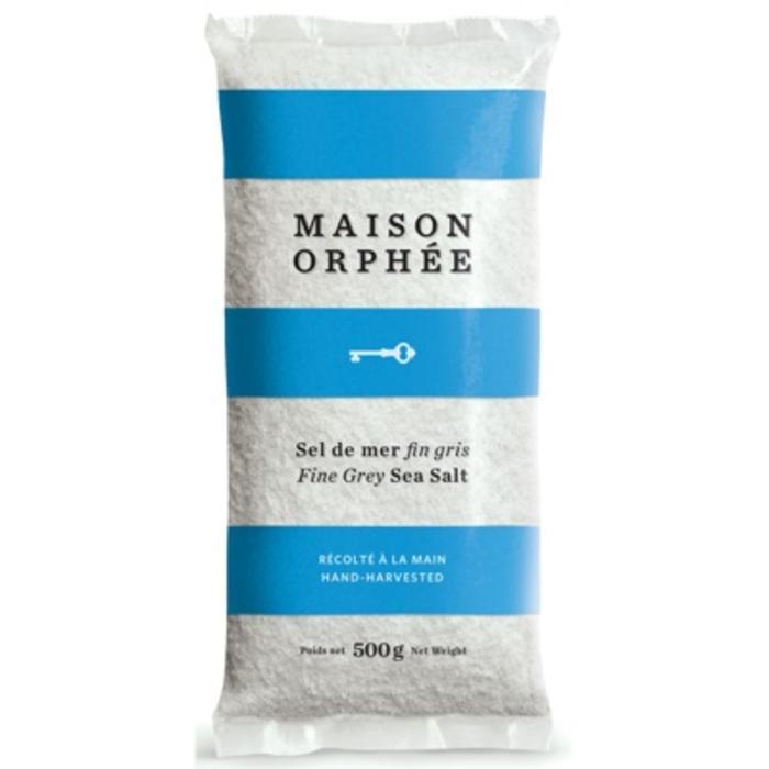 Sel de mer fin gris (sac) 500g
