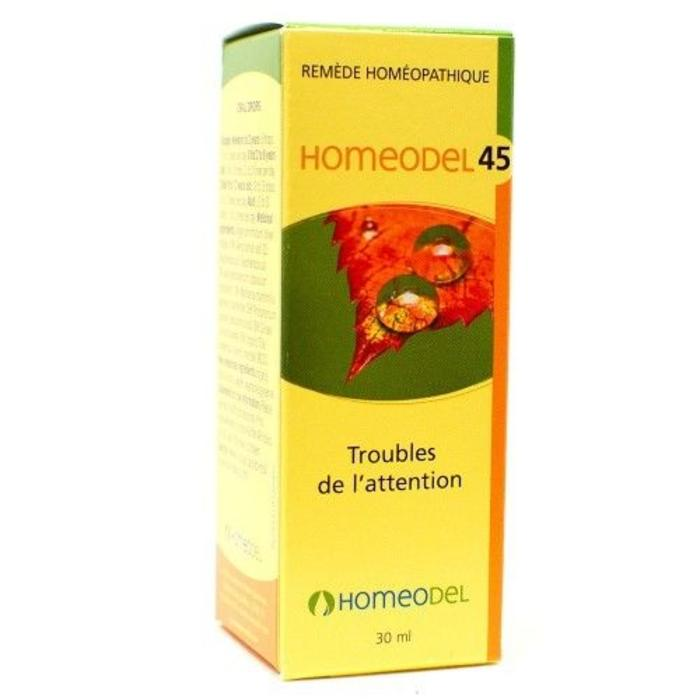 HOMEODEL 45 Troubles de l'attention 30 ml