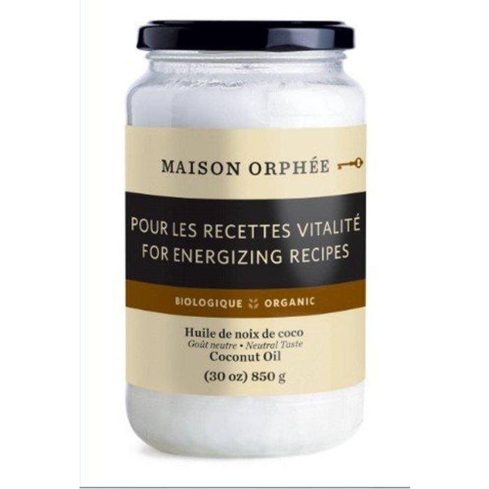 Huile de noix de coco desodorisee bio 850g
