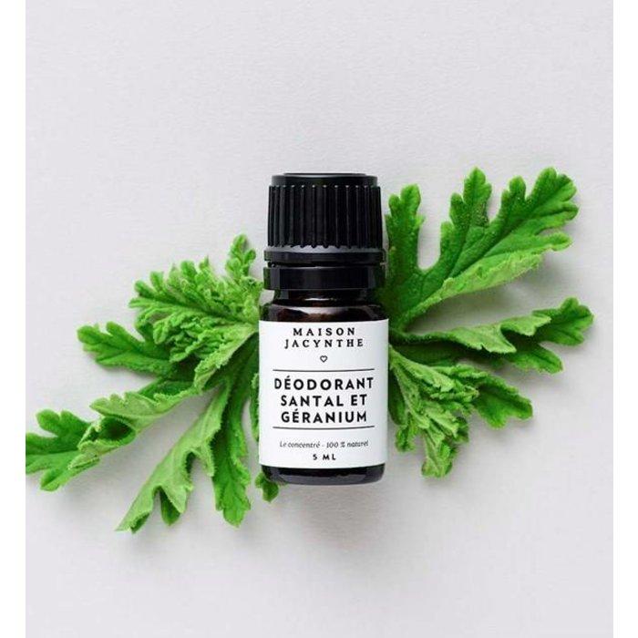Deodorant geranium-santal 5ml